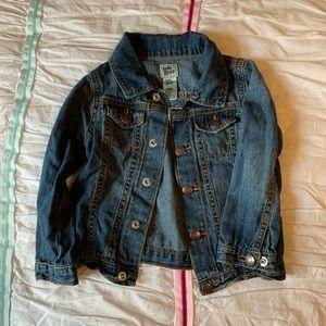 Jean Jacket- size 24 mo